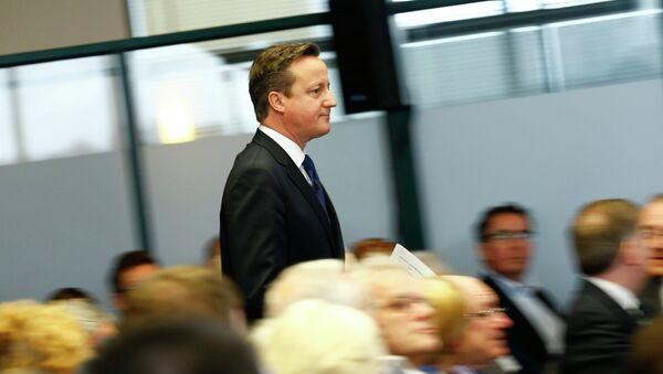 David Cameron, primer ministro de Gran Bretaña - Sputnik Mundo