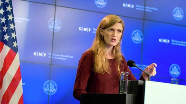 The US Ambassador to the United Nations Samantha Power - Sputnik Mundo