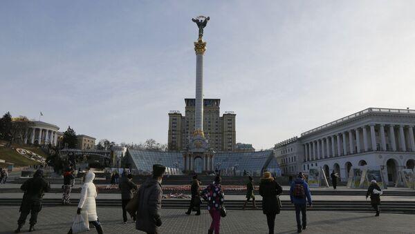 La plaza de la Independencia, Kiev, Ucrania - Sputnik Mundo