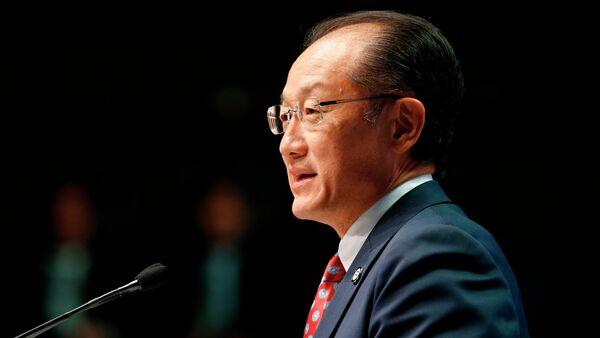 Jim Yong Kim, presidente del Banco Mundial - Sputnik Mundo