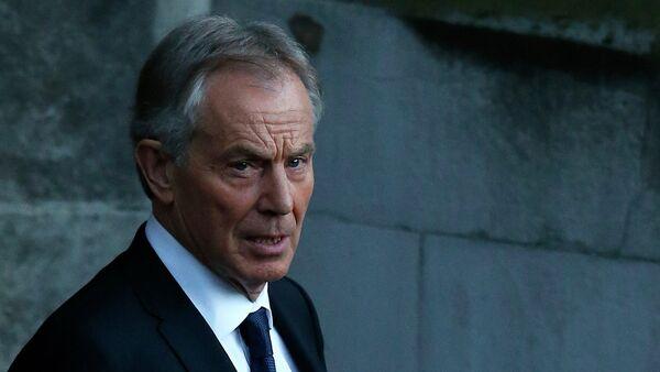Tony Blair, exprimer ministro de Reino Unido - Sputnik Mundo