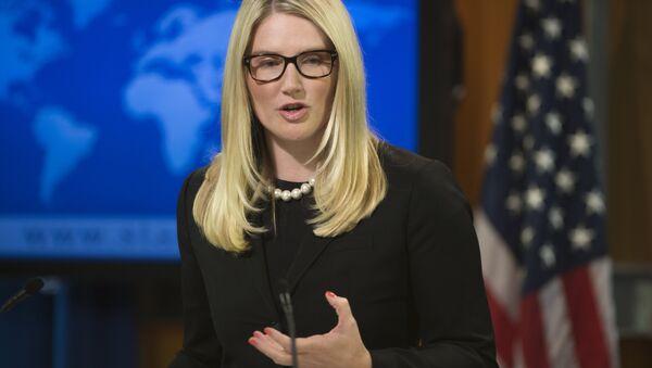 Marie Harf, vocera del Departamento de Estado de EEUU - Sputnik Mundo