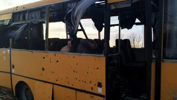 RPD dice que Kiev negó a sus investigadores el acceso al lugar del ataque contra autobús - Sputnik Mundo