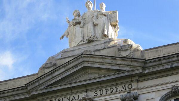 Tribunal Supremo de España - Sputnik Mundo