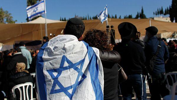 Entierro de los judíos franceses asesinados por un yihadista en un supermercado kosher de París - Sputnik Mundo