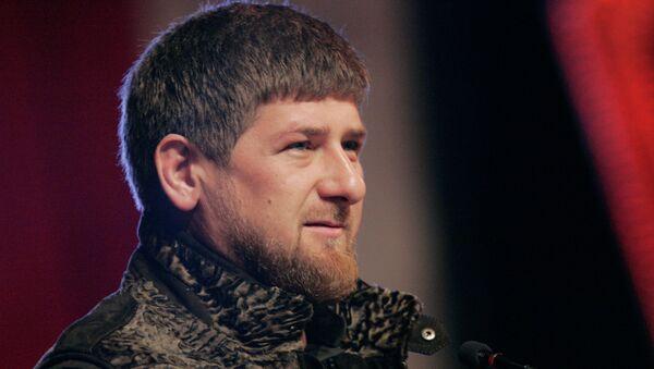 Ramzán Kadírov, presidente de Chechenia - Sputnik Mundo
