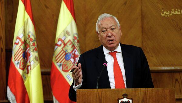 El canciller español llama a Palestina e Israel a evitar medidas unilaterales - Sputnik Mundo