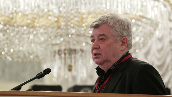Vsévolod Bogdánov, presidente de la Unión de Periodistas de Rusia - Sputnik Mundo