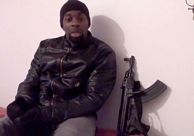 Amedy Coulibaly, el terrorista que mató a cinco personas en enero de 2015 en París.