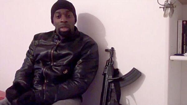 El yihadista Amédy Coulibaly, que la semana pasado mató en Paris a una agente de la policía y a cuatro rehenes judíos en un supermercado de Paris - Sputnik Mundo