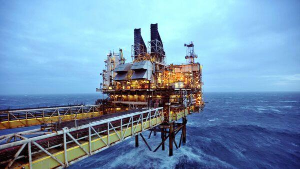 Extracción de petróleo en el Mar del Norte - Sputnik Mundo