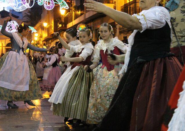 Bailes tradicionales en España