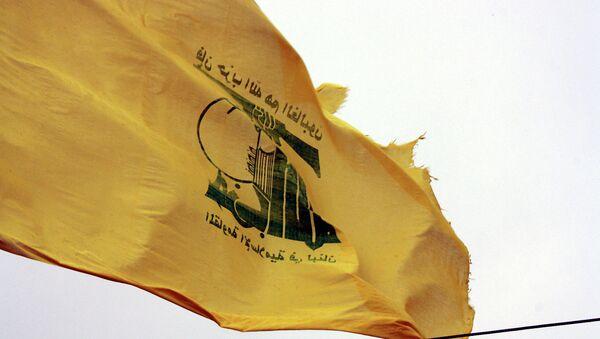Bandera del grupo chií libanés Hizbulá - Sputnik Mundo