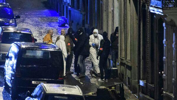 Operación antiterrorista en la ciudad belga de Verviers - Sputnik Mundo