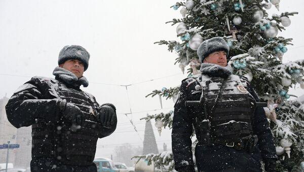 Policía rusa - Sputnik Mundo