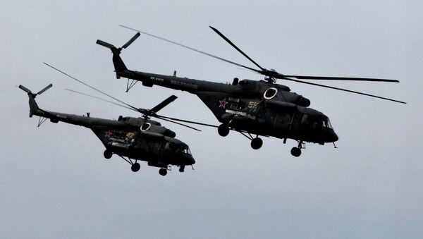Helicópteros rusos Mi-8 AMTSH - Sputnik Mundo