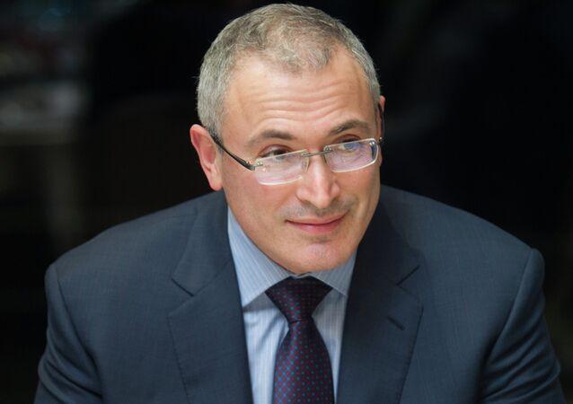 Mijaíl Jodorkovski, expresidente de Yukos
