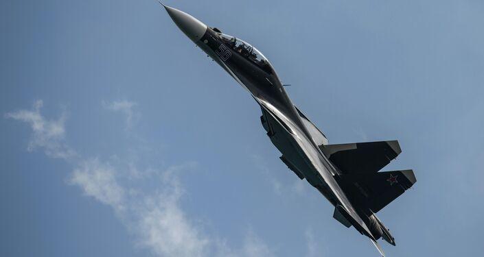 Caza multipropósito Su-30SM