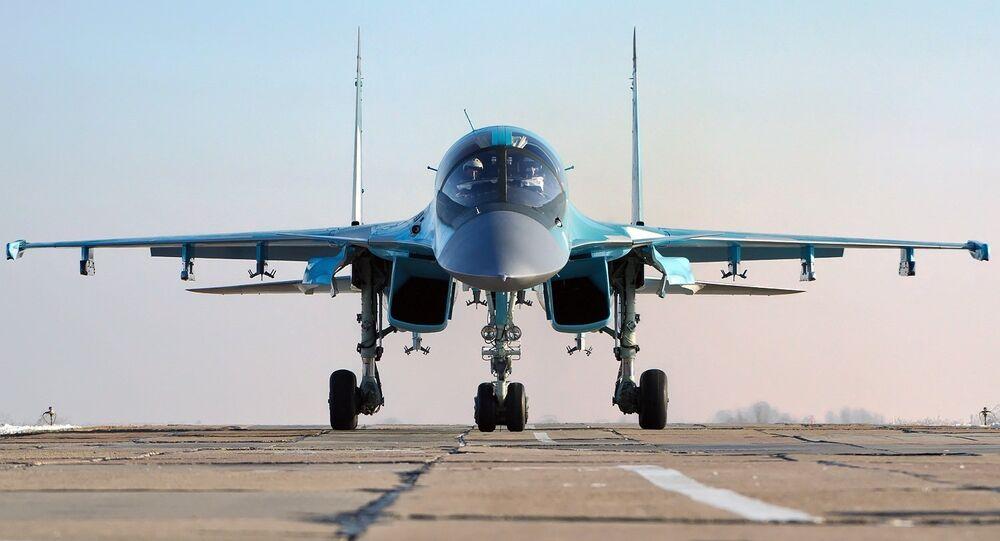 Cazabombardero táctico Su-34