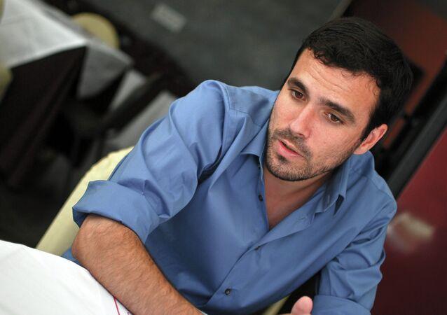 Alberto Garzón, el coordinador federal de Izquierda Unida