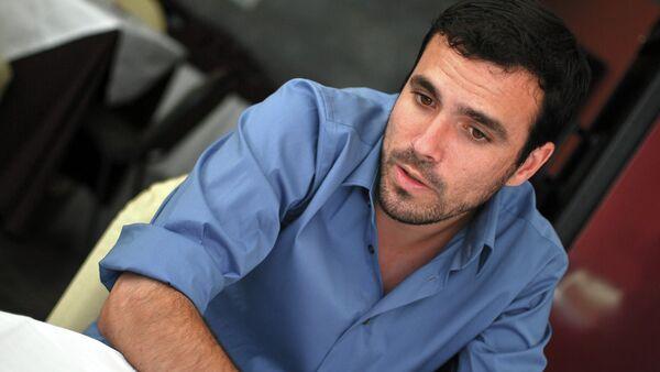 Alberto Garzón, el coordinador federal de Izquierda Unida - Sputnik Mundo