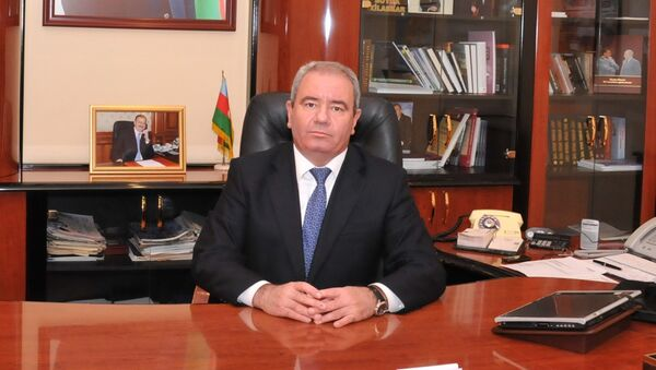 Alí Abbásov, ministro de Comunicaciones y Altas Tecnologías de Azerbaiyán - Sputnik Mundo