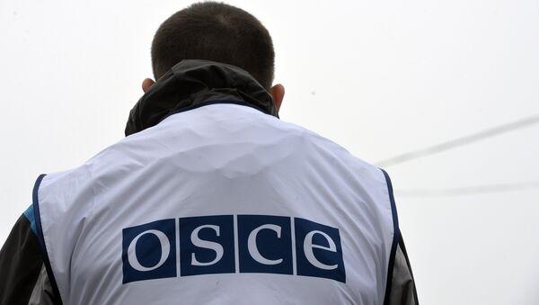Наблюдатели ОБСЕ осматривают КПП Новоазовск - Sputnik Mundo