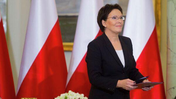 Ewa Kopacz, primera ministra de Polonia - Sputnik Mundo