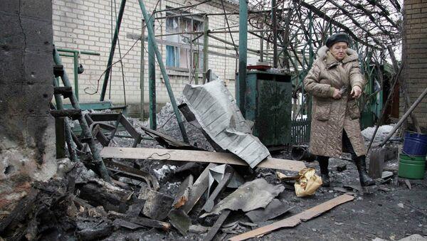 Las fuerzas ucranianas bombardearon tres barrios de Donetsk - Sputnik Mundo