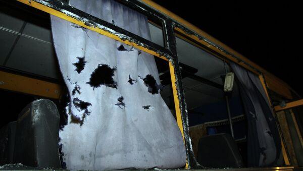 La OSCE concluye que el autobús en Ucrania fue atacado desde el norte - Sputnik Mundo