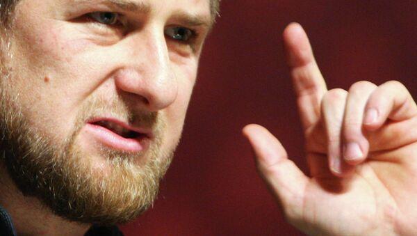 Ramzán Kadírov, dirigente de Chechenia - Sputnik Mundo