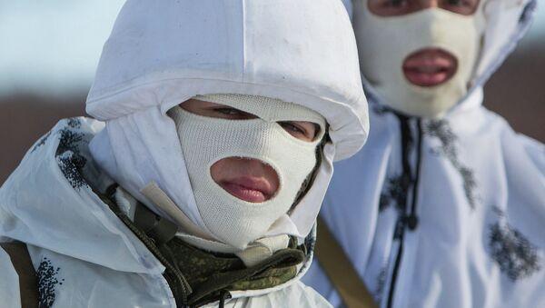 Soldados rusos (archivo) - Sputnik Mundo