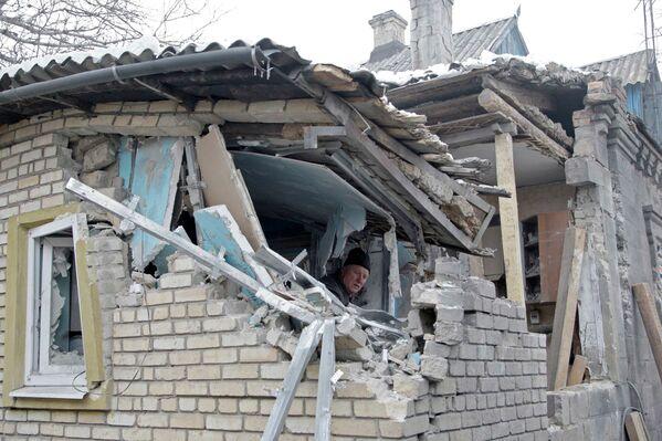"Donetsk: ""Jamás habíamos vivido bombardeos tan graves"" - Sputnik Mundo"