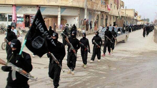Militantes del grupo yihadista Estado Islámico - Sputnik Mundo