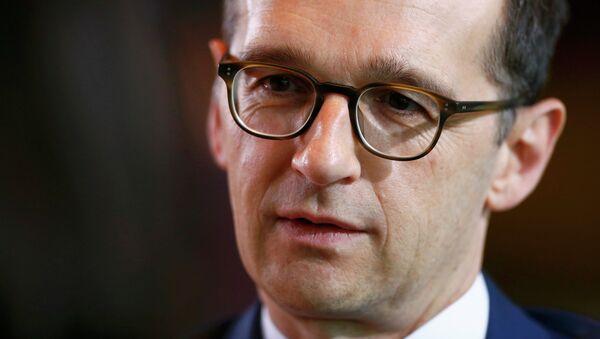 Heiko Maas, ministro de Justicia de Alemania - Sputnik Mundo
