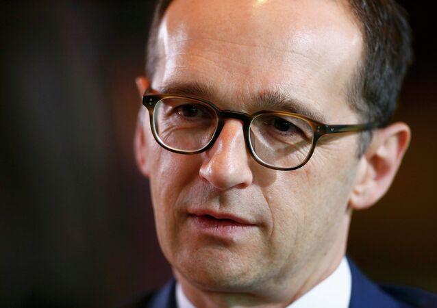 Heiko Maas, ministro de Justicia de Alemania