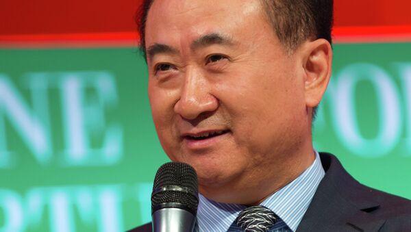 Wang Jianlin, magnate chino - Sputnik Mundo