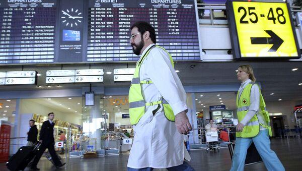 Sanidad descarta el ébola en una pasajera del vuelo París-Moscú - Sputnik Mundo