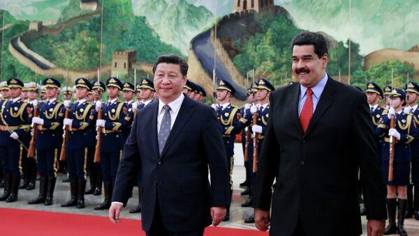 Presidente de China, Xi Jinping y presidente de Venezuela, Nicolás Maduro - Sputnik Mundo