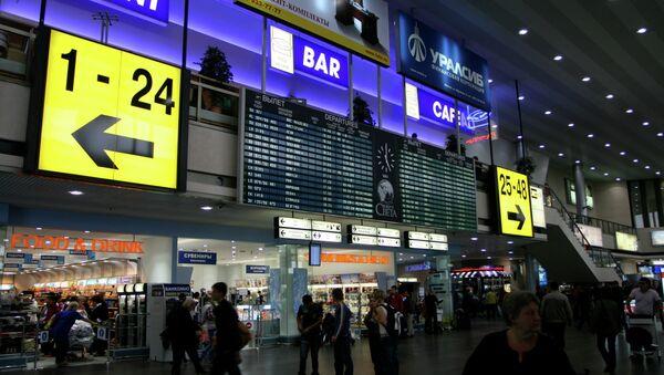 Aeropuerto Internacional de Moscú-Sheremétievo - Sputnik Mundo