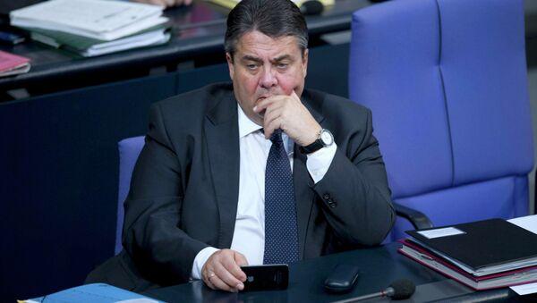 Sigmar Gabriel, ministro de Exteriores de Alemania - Sputnik Mundo