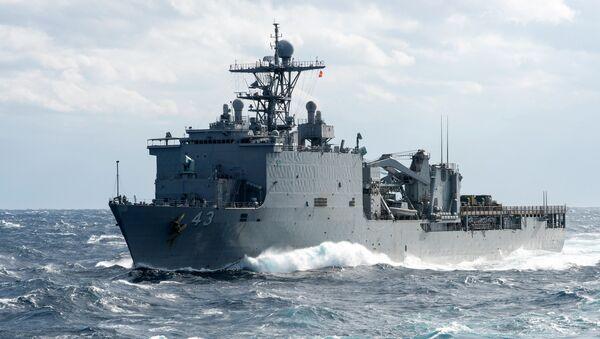 USS Fort McHenry - Sputnik Mundo