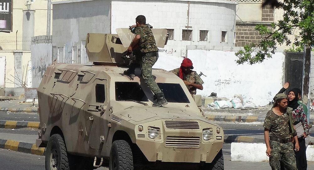 Fuerzas de seguridad de Yemen en el sur de la ciudad de Adén (archivo)