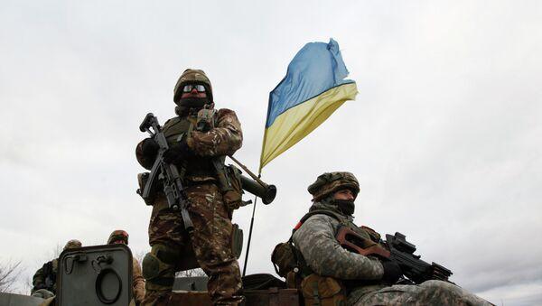 Los militares ucranianos - Sputnik Mundo