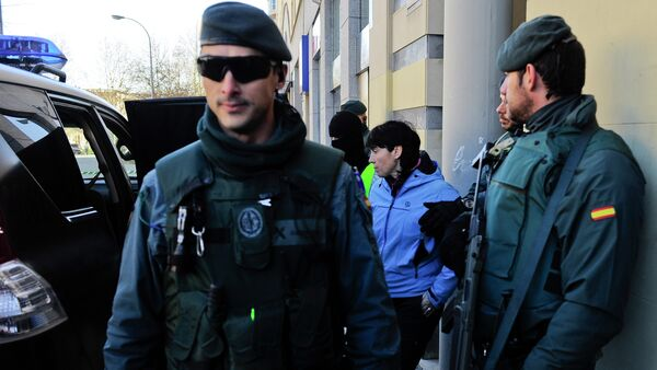 Spanish police - Sputnik Mundo