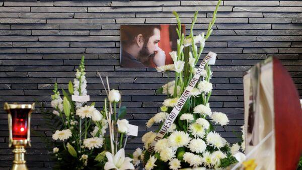 Похороны Канека Санчеса Гевары, внука Че Гевары - Sputnik Mundo
