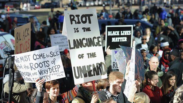 Protestas contra el racismo en EEUU (archivo) - Sputnik Mundo