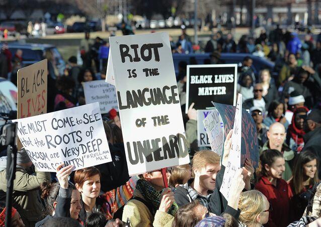 Protestas contra el racismo en EEUU (archivo)