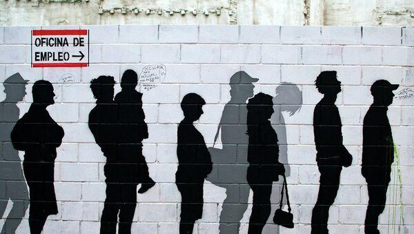 Grafismo en la calle San Pablo, Zaragoza - Sputnik Mundo