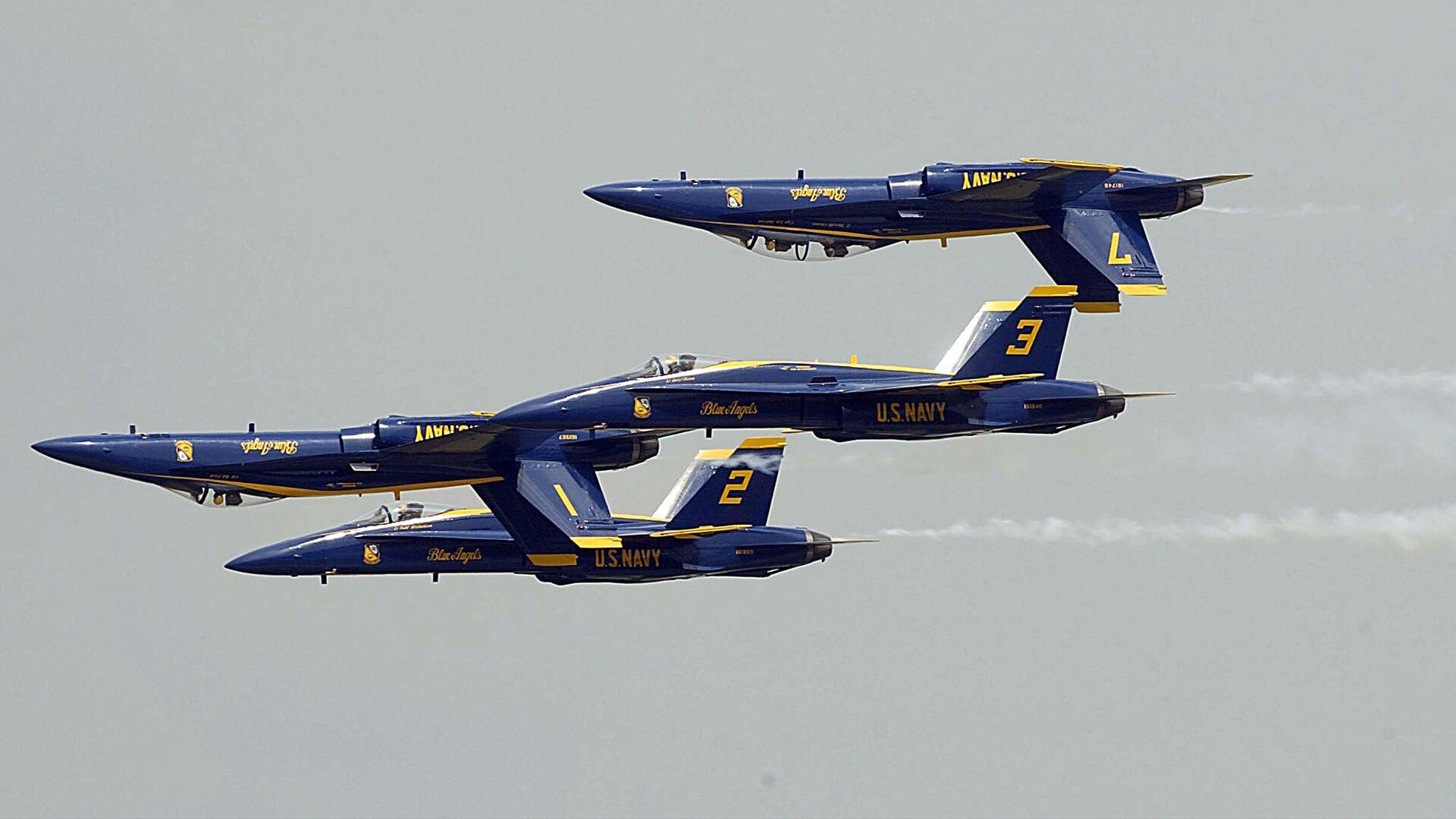 Blue Angels de la Armada de EEUU - Sputnik Mundo, 1920, 15.05.2021